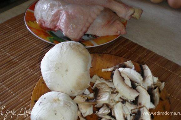 готовим начинку №1 режим грибы