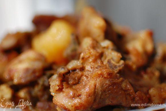 Мясо в собственном соку,получается очень нежным,вкусным и сочным.Приятного аппетита! P/S В принципе таким способом можно готовить любой вид мяса.