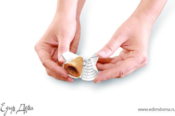 Традиционная начинка: Взбить масло с ванильным сахаром.