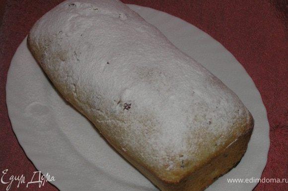 Перед подачей посыпать сахарной пудрой. Приятного аппетита! :)