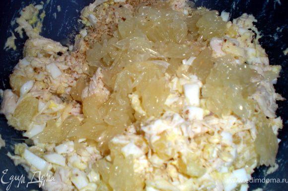 Добавить свити и грецкий орех.