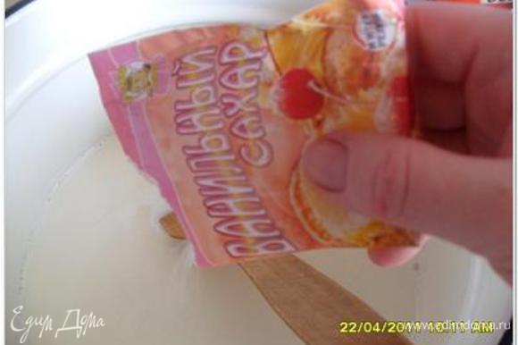 5 пачек ванильного сахара