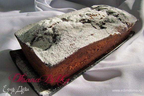 После выпечки притрусить коричневым сахаром или пудрой.