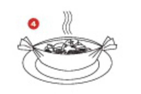 Выпекайте в духовке при температуре 200°C в течение 15 минут.