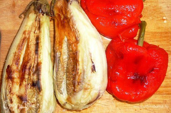 Очистить овощи от кожицы.