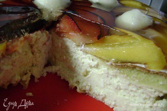 А так пирог выглядит в разрезе!