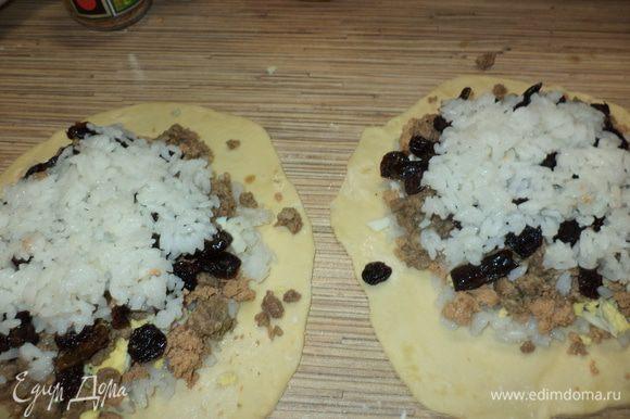 на этом в оригинале слои заканчиваются,но мне нравиться заканчивать рисом,поэтому -рис