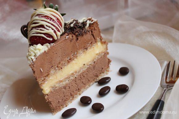 ..и кусочек тортика..угощайтесь!