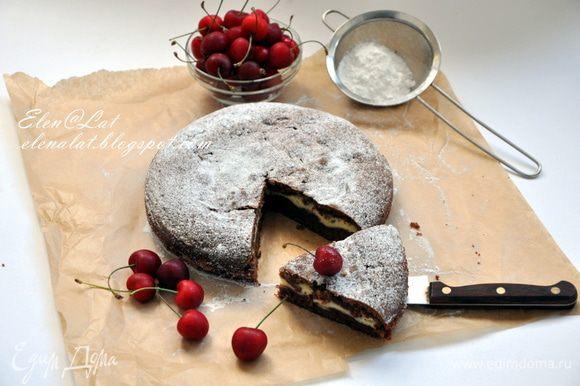 И все. Просто и ооооочень вкусно, просто шоколадное настроение поднимается после его поедания. Попробуйте и точно останетесь довольны)))) Приятного аппетита!!!!