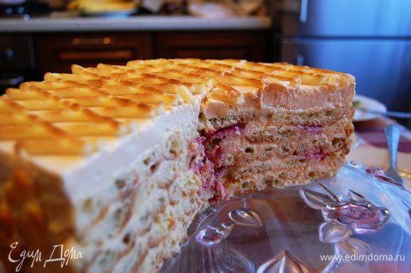 ...торт в разрезе... вкуууусно!!!! Приятного аппетита!!!!