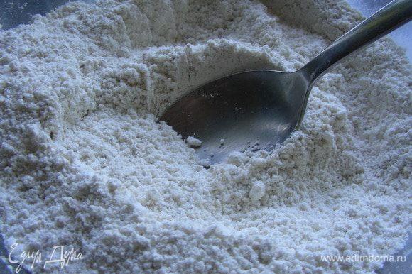 Нам нужна кокосовая стружка мелкого помола, чтобы выпечка была нежной. Если она у вас крупная, как была у меня, то ее надо измельчить в кофемолке.