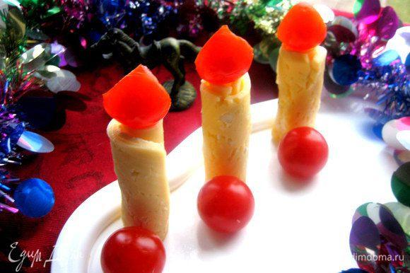 """Вот теперь наш Новый год со """"свечами"""")))"""