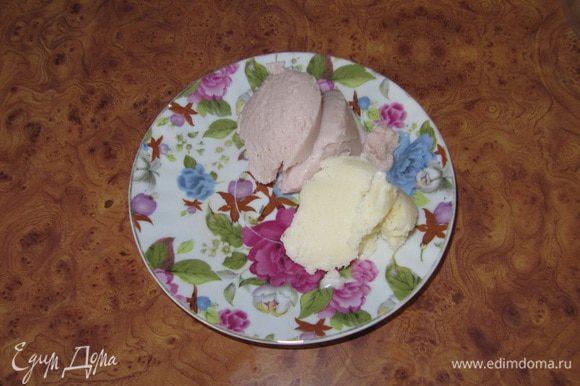 Через 5-6 часов мороженое готово.