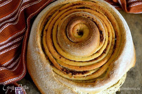 А еще на днях делала чесночный хлеб по рецепту Ларисы http://www.edimdoma.ru/retsepty/52596-chesnochnyy-hleb Очень вкусный и ароматный хлебушек! Делать его одно удовольствие!... Все рекомендую попробовать...