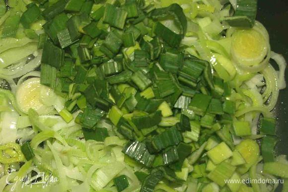 Отправляем на раскаленную сковороду, предварительно добавив растительное масло. Доводим лук до готовности, добавляем мелко нарезанный укроп, щепотку соли (или по вкусу). Даем остыть.