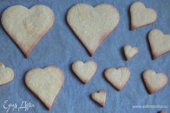 Пергамент намочить и хорошо отжать. Выложить печенье на противень с пергаментом и выпекать в разогретой до 180 ° С духовке 15 минут.