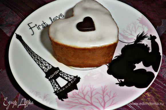Готовые пирожные прекрасно подходят к чашечке чая или кофе. Чудесных вам воспоминаний и приятного аппетита!