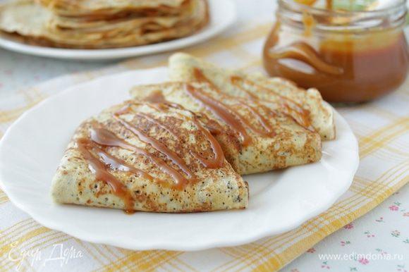 Нам было очень вкусно с карамелью от Ирины burro.salvia http://www.edimdoma.ru/retsepty/63583-domashnyaya-solenaya-karamel. Ирина еще раз спасибо!