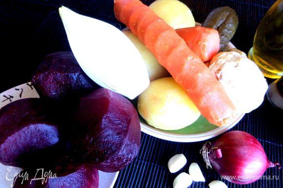 Продукты...Корень сельдерея у мня был совсем маленький,размером с картофелину и этого достаточно!