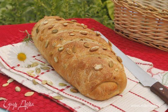 Вкусного хлеба вам!