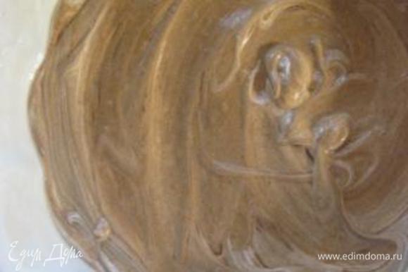 Форму( дно) ( диаметр - 26 см) смазать растит.маслом. Тесто вылить в форму и выпекать в разогретой до 180 С духовке, 35-40 минут. ( я выпекала ровно 40 минут).