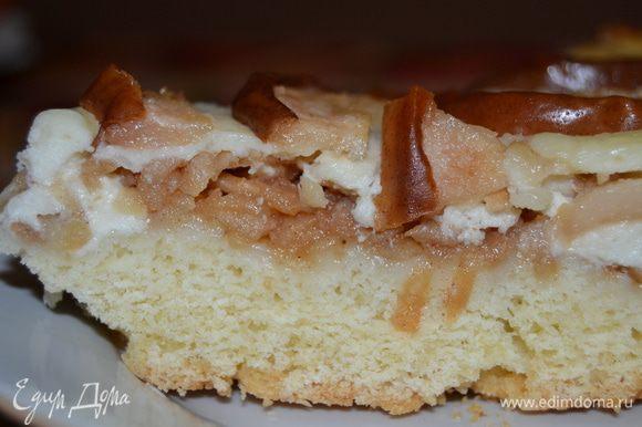 Пеку пирог при температуре 190 градусов 50 минут.