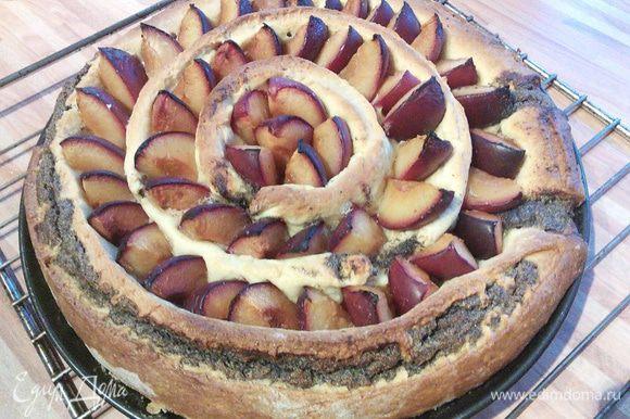 Последние 10 мин возможно придётся прикрыть тарт фольгой, чтобы верх не подгорел.