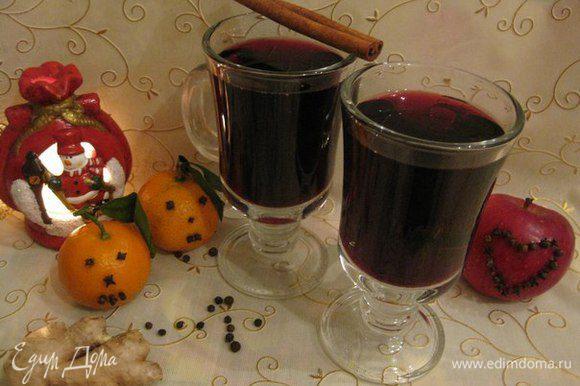 Теплых вам воспоминаний о зимних днях вместе с чашечкой горячего глинтвейна!