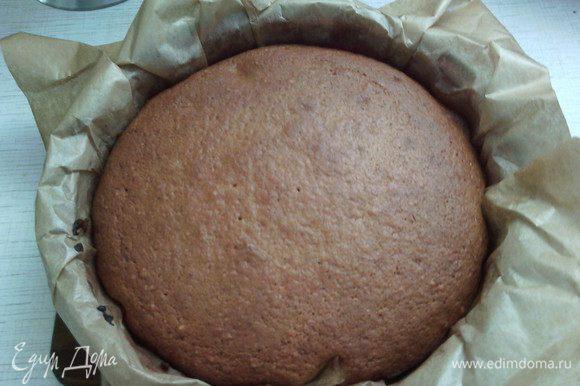 Наш тыквенно-ореховый бисквит готов :) Теперь пусть остынет.