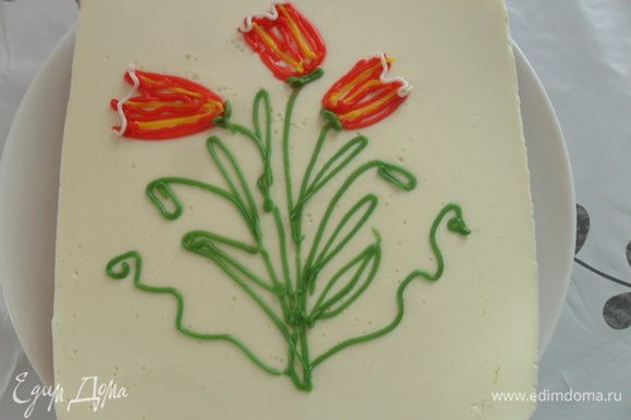 Украсить по желанию, я украсила сахарными карандашами. Приятного чаепития!!!