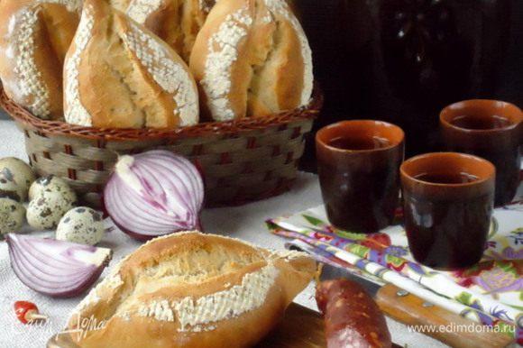 Ну а теперь можно отведать исключительно вкусного хлебушка!