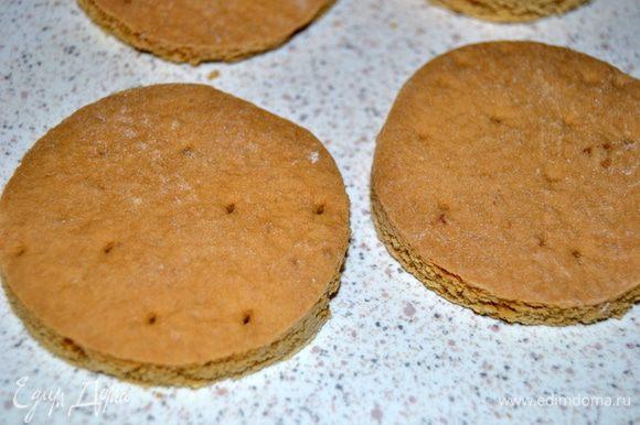 Диаметр бисквита должен быть равен или чуть меньше диаметра верха формы.