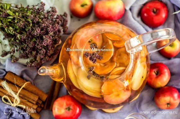 Залить кипящей водой и настоять не менее 3 часов. Отличный летний освежающий напиток. И полезный:)