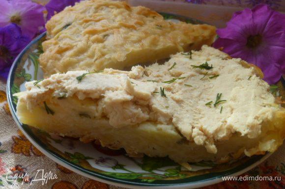 Но с пирогом конечно же вкуснее.... Приятного аппетита!