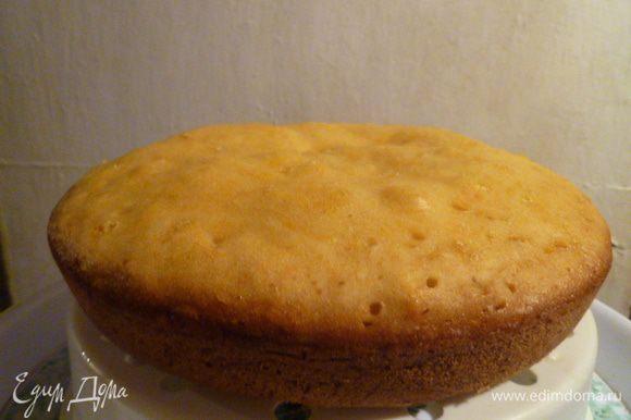 Вот готовый кекс.