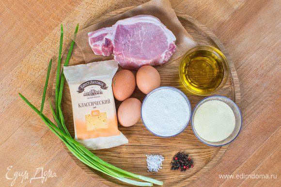 Для приготовления фламенкинов вам понадобятся следующие ингредиенты.