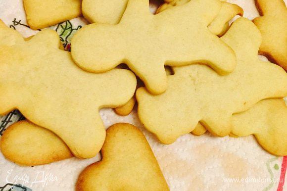 Из обрезков теста накатали с дочей вкусное печенье!