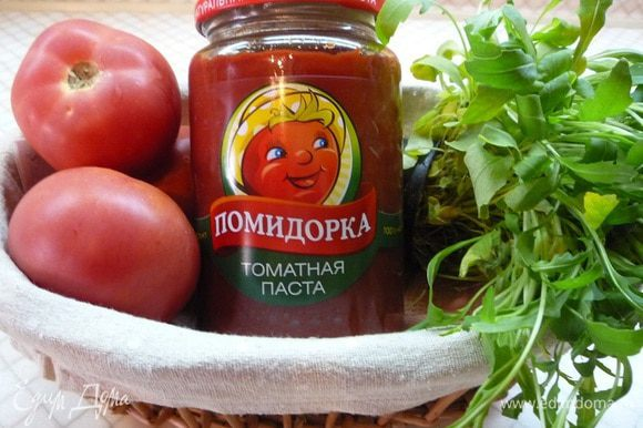 Томатная паста «Помидорка» придаст неповторимый вкус этому супу.