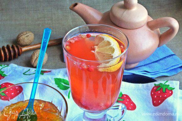 Охлажденный чай также вкусен.