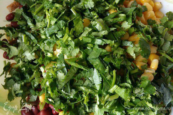 Салат из огурца фасоли кукурузы