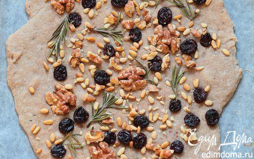 Рецепт Ореховое печенье с изюмом