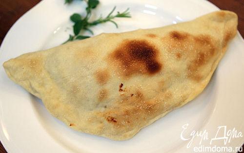 Рецепт Calzone – итальянская закрытая пицца