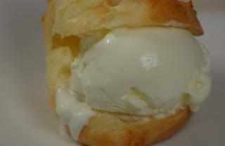 Рецепт Заварные пирожные с мороженым