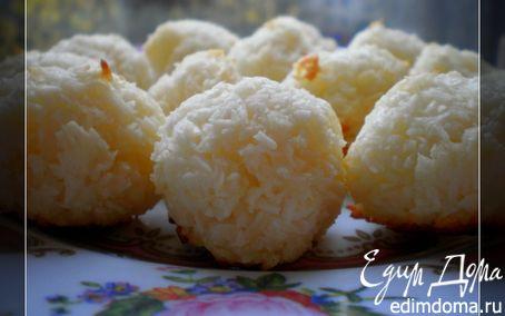 Рецепт Кокосовые печенья