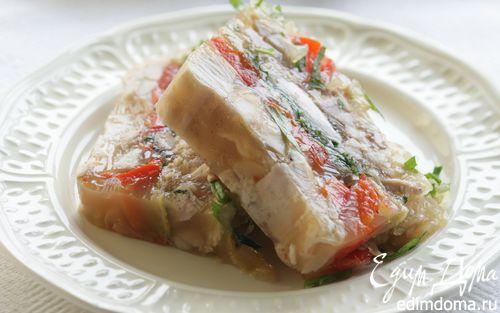 Рецепт Заливное из кролика со сладким перцем