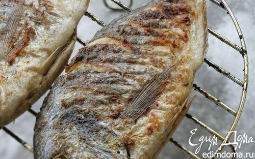 Рецепт Маринованная рыба на гриле