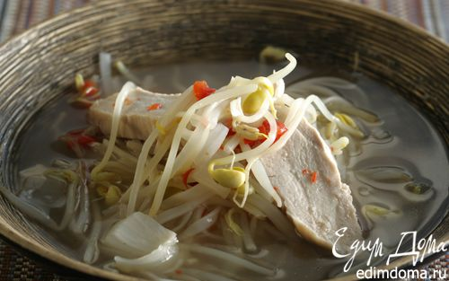 Рецепт Куриный суп-лапша