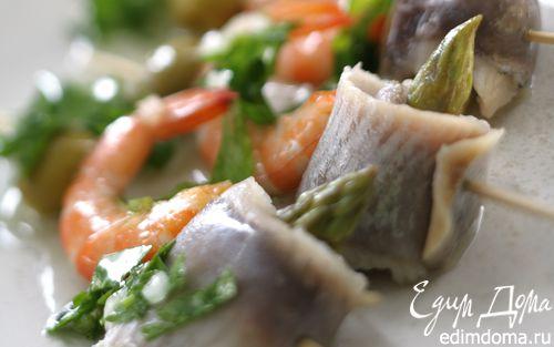 Рецепт Салат с сельдью по-испански