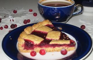 Рецепт Любимый клюквенный пирог