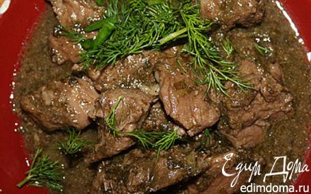 Рецепт Чакапули из баранины